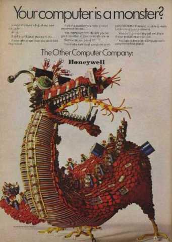 1969 Honeywell Computer Ad