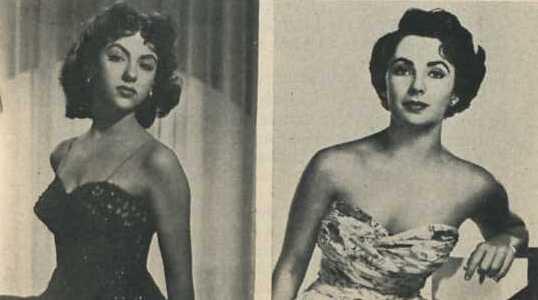 Rita Moreno and Elizabeth Taylor