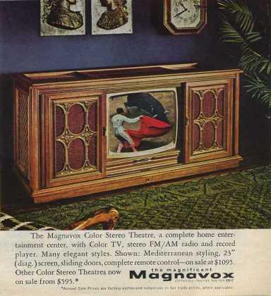 Magnavox ad 1969