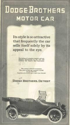 1915 Dodge ad