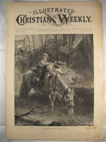 Illustrated Christian Weekly May 5 1877